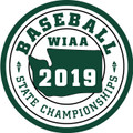 WIAA 2019 State Baseball Patch