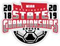 WIAA 2018-19 State Soccer Pin