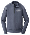 WIAA 2019 State Softball New Era Men's 1/4 Zip- Navy Heather