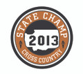 2013 State Champion Patch - XC