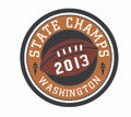 2013 State Champion Patch - Football