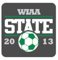 State Soccer 2013 Pin