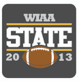 State Football Pin 2013