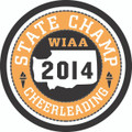 State Cheer Champ Patch 2014