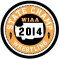 State Wrestling Champ Patch 2014