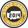 State 2014 Champ Patch - Baseball