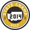 State 2014 Champ Patch - Golf