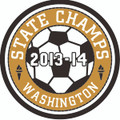 State 2013-14 Champ Patch - Soccer