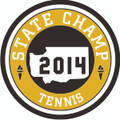 State 2014 Champ Patch - Tennis