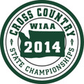 2014 State Cross Country Patch