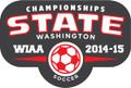 State 2014-15 Soccer Pin