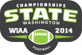 State Football 2014 Pin