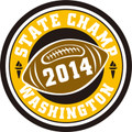 State Champ Football Patch 2014