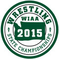 WIAA 2015 Wrestling Championships Patch