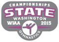 State Gymnastics Pin 2015