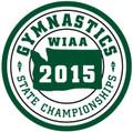State Gymnastics 2015 Championship Patch