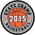 State Basketball 2015 Champ Patch