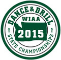 State Dance & Drill 2015 Patch