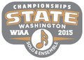 WIAA State Solo Ensemble Metal Pin
