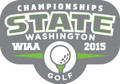 State Golf 2015 Metal Pin