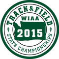 State Track & Field 2015 Patch