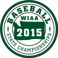 State Baseball 2015 Patch