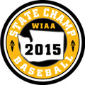 State Baseball 2015 Champ Patch