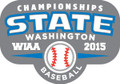 State Baseball 2015 Metal Pin