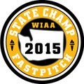 State 2015 Fastpitch Champ Patch