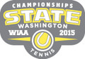 State 2015 Tennis Metal Pin