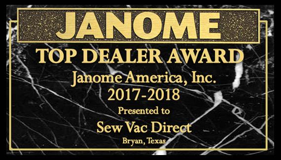 #1 Janome Dealer