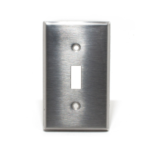 Switch Plate, 1 Gang, Stainless Steel
