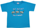Run Run Emus T-shirt - blue