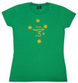 Ladies Southern Cross T-shirt Australian design, Australian made.