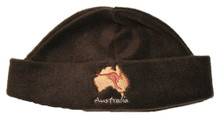Stay warm whilst travelling with this Australian made beanie.