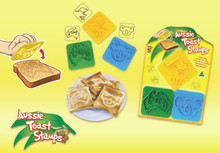 Brighten up your day with these Australian made Aussie Toast Stamps