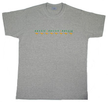 We love our sports, we love our Australian made t-shirts!