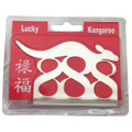 Lucky kangaroo 888 ornament