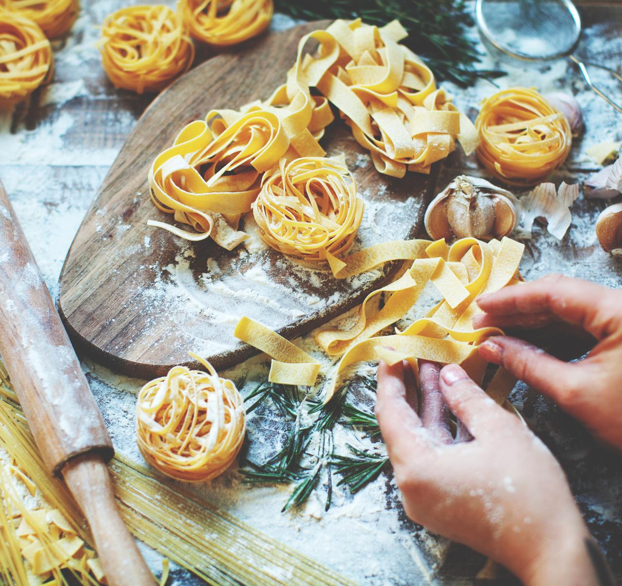 ENCORE: Pasta! Pasta! Pasta! :  Hands On - Wednesday, October 25, 2017     7-9 PM