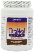 Ultrameal rice chocolate for Nutritional Support for Healthy Body Composition