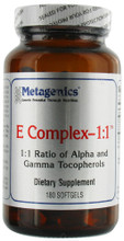 1:1 Ratio of Alpha and Gamma Tocopherols