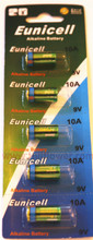 10A card 9V Alkaline battery compatible A10 AG10 E10A G10A GP-10A GP10A L1022 MN10 WE10A