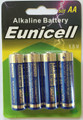50 AA LR6 Card 1.5V Super Heavy Duty Alkaline Battery