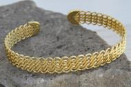 [Sample] Gold Cuff Bracelet