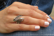 [Sample] Silver Ring - Adjustable