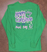 Merry Christmas!  Long Sleeve