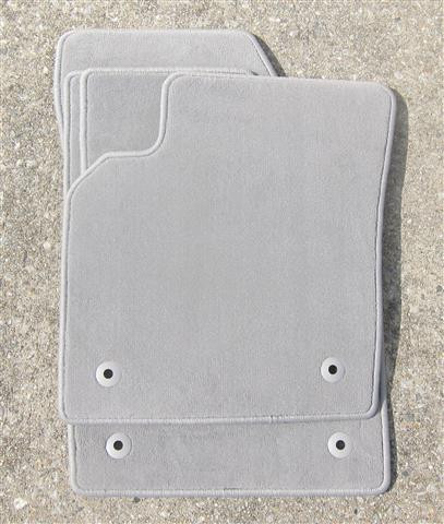 Volvo S40 OEM Floor Mats (Quartz/Beige/Light Gray) | 2004 5-2011
