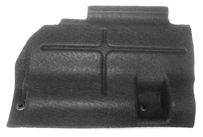 2006-2013 volvo c70 rf fuse box cover (black felt panel)