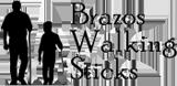Official Brazos Walking Sticks logo