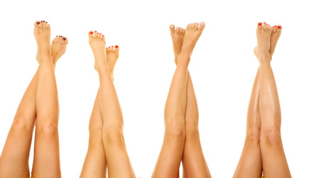 Photo of women's legs